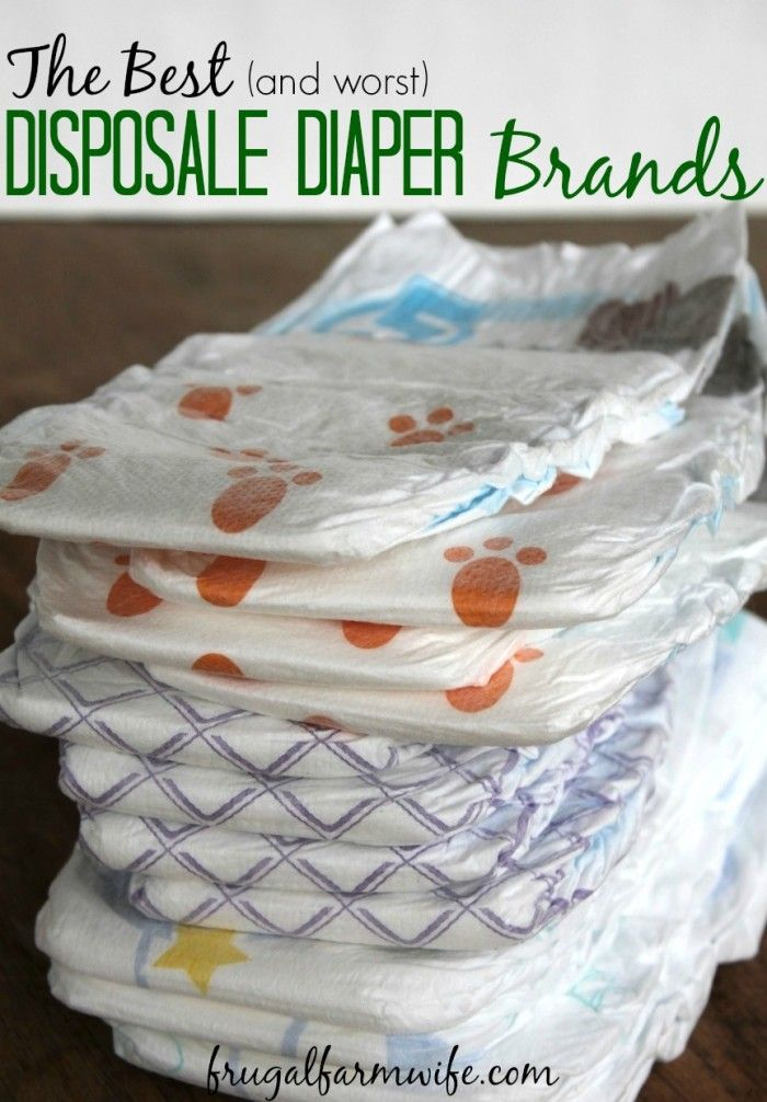 best disposable diapers - and the worst! This review is the answer to all your questions about which diapers are cheap, and which are TOO cheap!