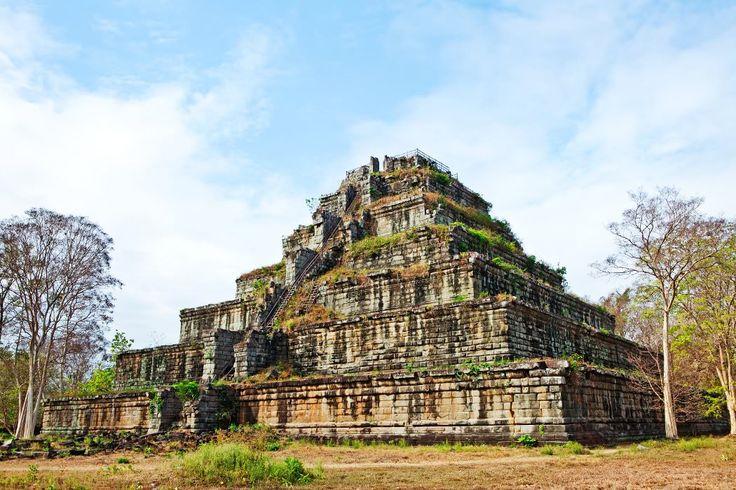 Prasat Thom temple at Koh Ker, Cambodia.
