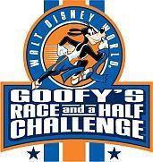 Disney's Goofy Challenge - a half marathon on Sat and a full marathon on Sun.  Completed Jan 2011.
