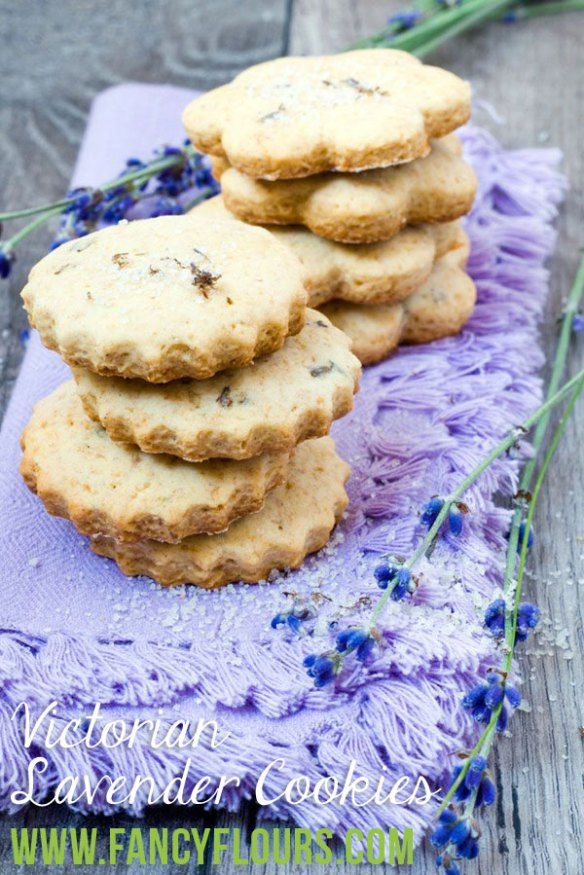 Victorian Lavender Cookies Recipe