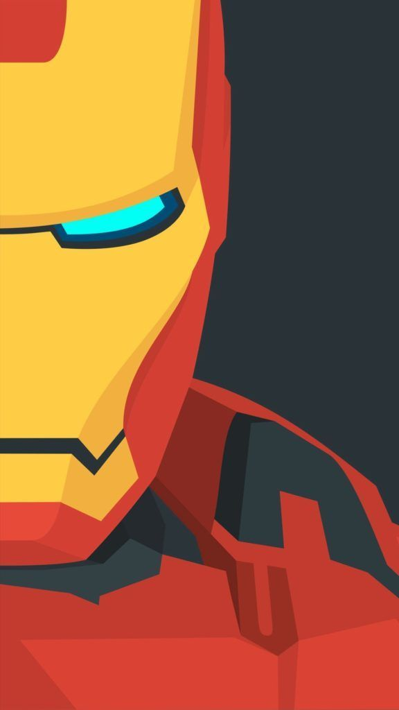 Iphone X Wallpapers 4k Technologe Iron Man Art Iron Man Painting Iron Man Hd Wallpaper