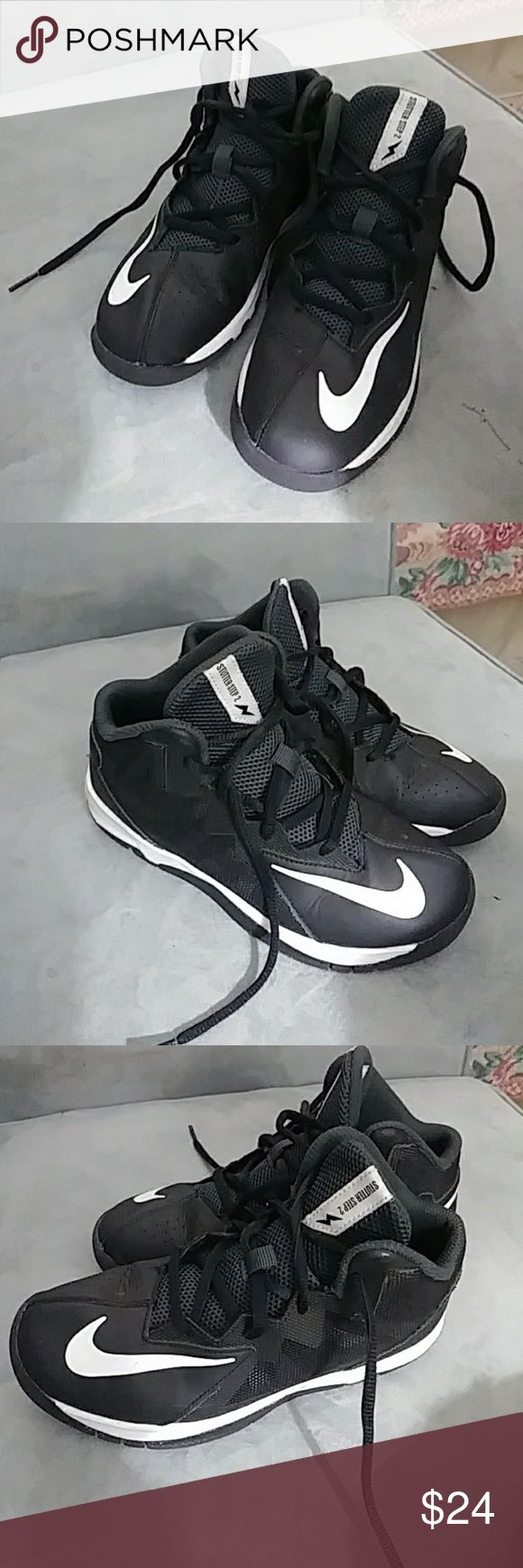 Boys Nike Stutter Step 2 BB shoes Youth size 1.5 Nike Stutter Step 2 Nike Shoes Sneakers