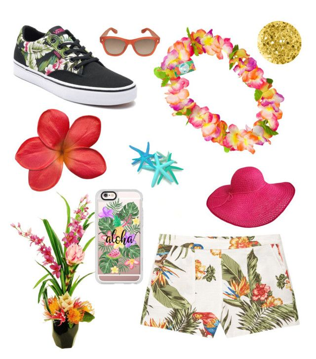 """""""tropical"""" by tiffany-facebook on Polyvore featuring MANGO, Vans, Designs by Lauren, Casetify, Anna Sui and Givenchy"""