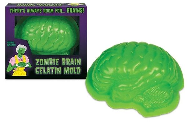 Impress your friends as you reenact scenes from Night of the Living Dead with a gelatin brain. 14.95$CAD @ www.opuszone.com