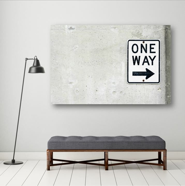 תמונה לבית שמחפש כיוון http://www.roomsgallery.co.il/product/traffic-sign-one-way/