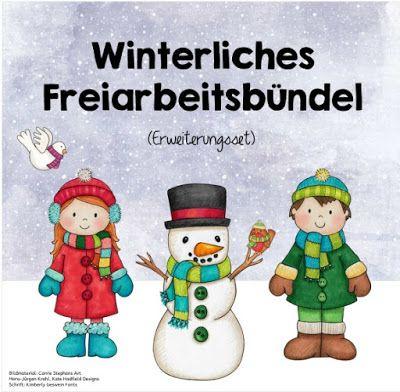 Ideenreise: Winterliches Freiarbeitsbündel (Erweiterungsset)