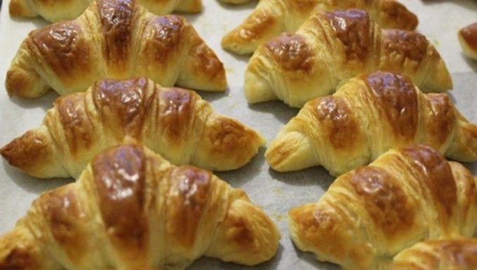 Vynikající domácí croissanty