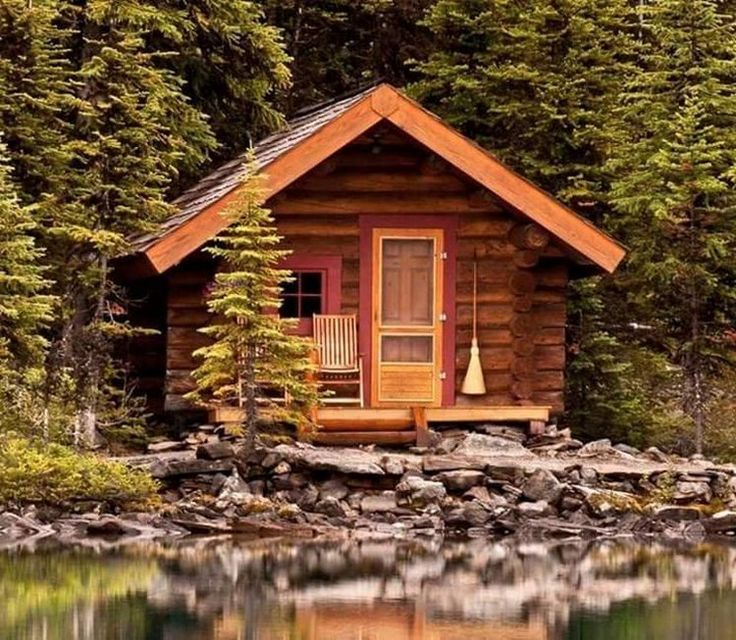 19 Log Cabin Home Décor Ideas: All I Need Is A Little Cabin In The Woods (19 Photos)