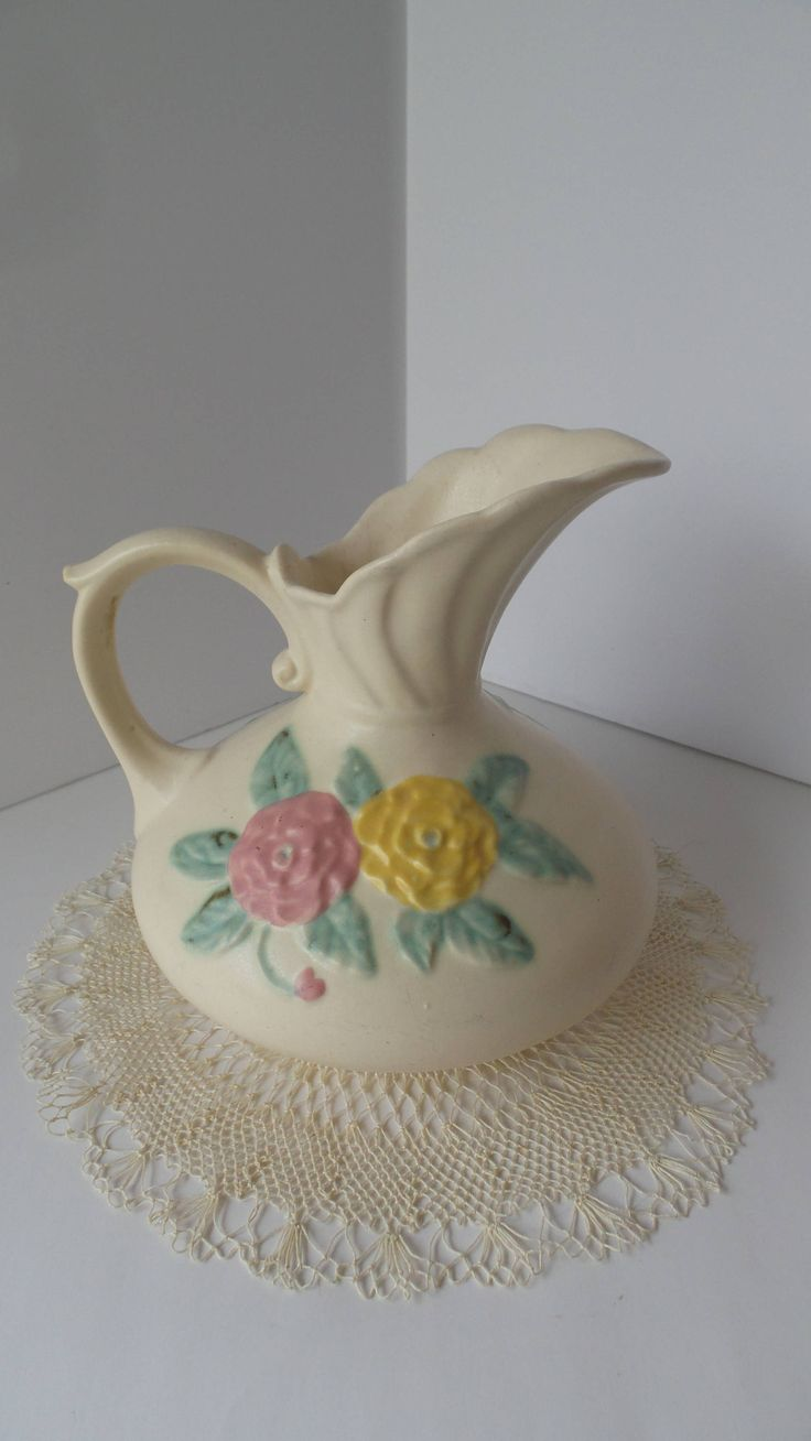 303 best hull art pottery images on pinterest hull pottery vintage hull pottery camilla open rose ewer pitcher hull camilla pottery vase pitcher hull reviewsmspy