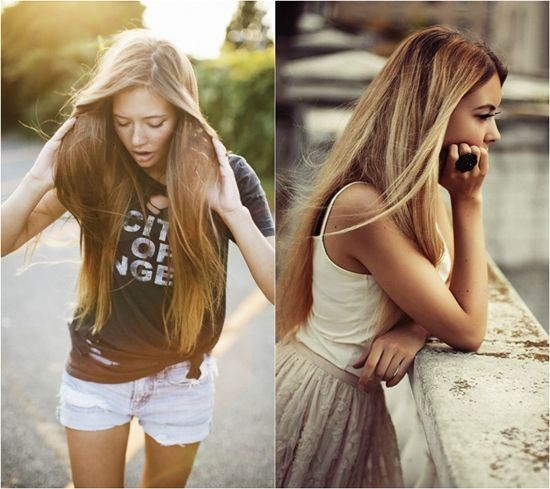 115 best hair extensions images on pinterest hair blog easy long straight loose wavy hairstyles with hair extensions clip in pmusecretfo Gallery