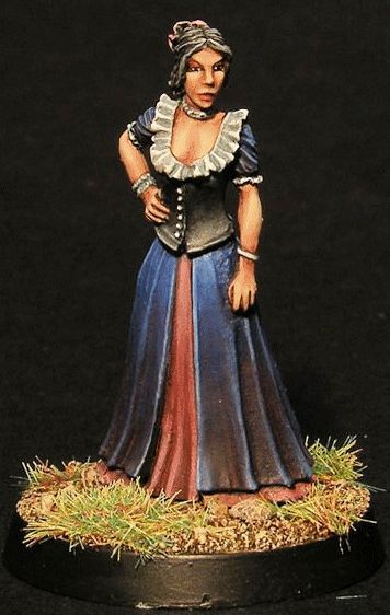 -  31mm from Head to Toe-  Miniature supplied unpainted-  Comes with a 25mm base