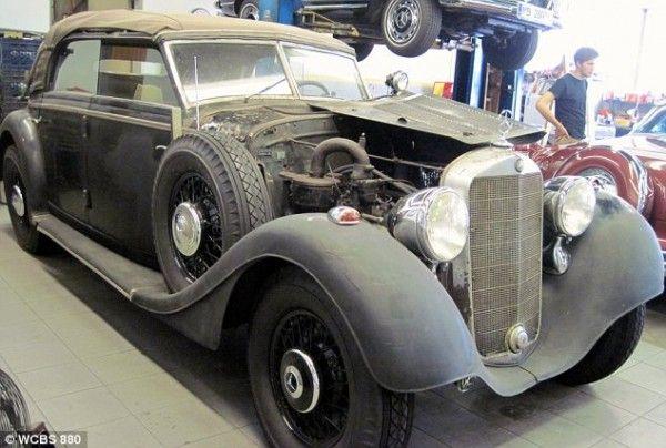 Hitler owned fleet car 1942 Mercedes 320 Cabriolet D sold over the internet