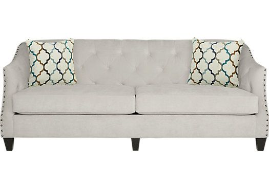 Sofia Vergara Monaco Court Oyster Sofa . $688.00. 88W x 36D x 33.5H. Find affordable Sofas for your home that will complement the rest of your furniture.