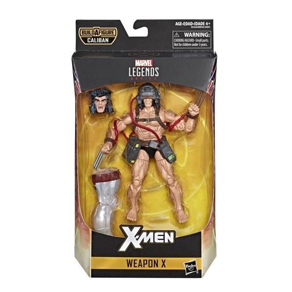 Marvel Legends X-men 6-inch Wave 4 Caliban BAF Set of 7 Action Figures PRE SALE