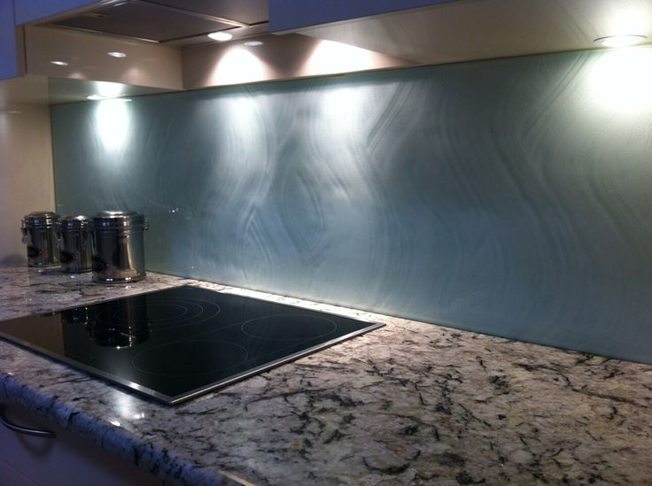 Textured Glass Kitchen Splashback Is A Beautiful Feature To Any Kitchen No