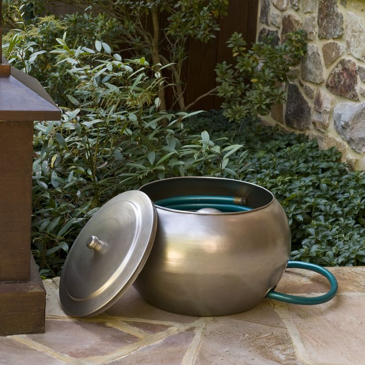 Cobraco Modern Steel Hose Holder And Lid Set For The Garden Pinterest Products Modern And