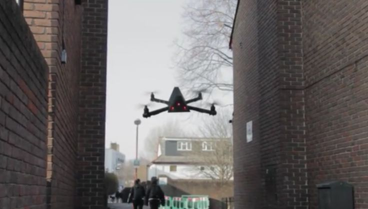 The Nightwatchman surveillance drone would have access to massive criminal databases and could document civil offenses or even predict terrorist's activities. [Future Drones: http://futuristicnews.com/tag/drone/ Drones for Sale: http://futuristicshop.com/tag/drone/]
