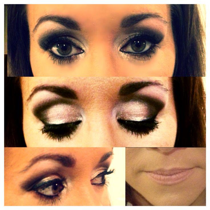 Smokey eye, natural lip xXx