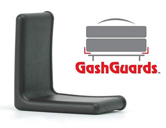 Gashguards Deluxe Plastic Bed Frame End Caps Sheet Savers Three