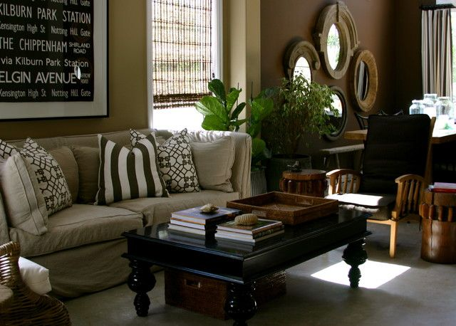 Image result for black and red living eclectic