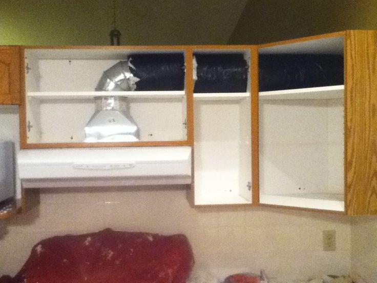 Insulating the rangehood ducting
