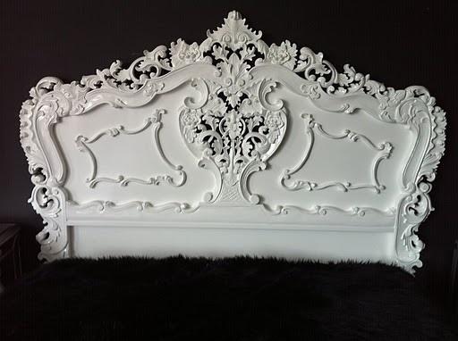 Victorian Headboard - White by shawnadrg, via Flickr