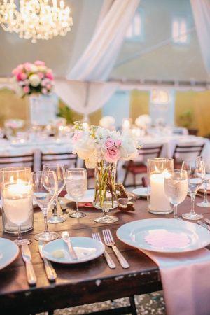 Pink Tent Wedding Reception | http://www.acharlestonbride.com/ | photography by http://kellysauer.com/