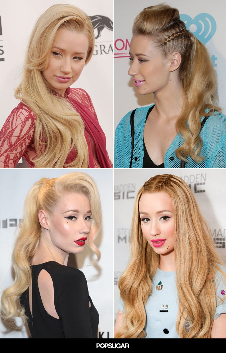 Iggy Azalea's Shirley Temple Curls Will Make You Want to Air-Dry