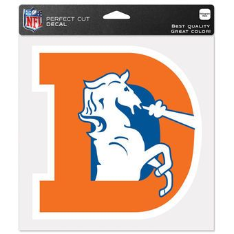 "WinCraft Denver Broncos 8"" x 8"" Color Decal"