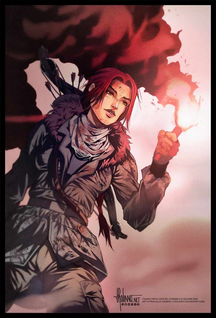 Rise of the Tomb Raider by TholiaArt.deviantart.com on @deviantART