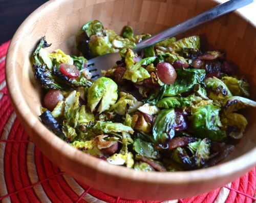 Brussell Sprouts & Grape Salad!! Healthy Salad Recipes: Healthy Salad ...