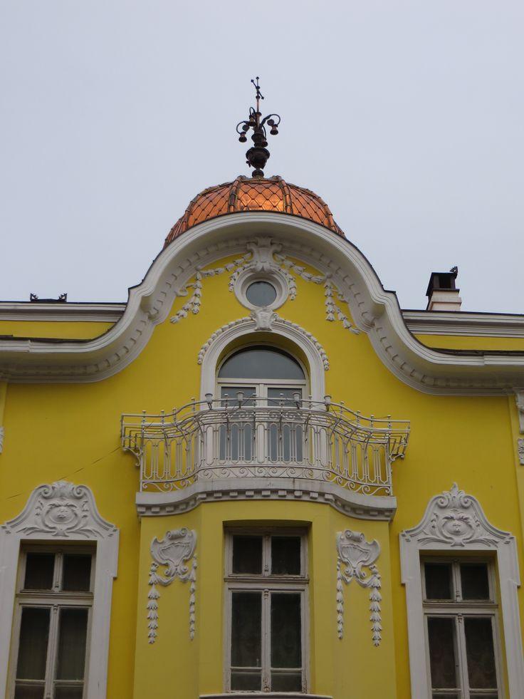 Yellow house/ Burgas/ Bulgaria