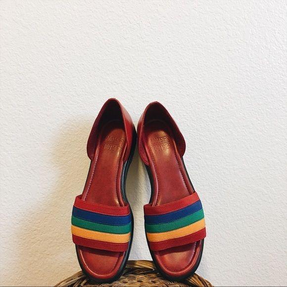 a0195b0976cec Shoes - Vintage Rainbow Mootsies Tootsies D'Orsay Flats   SS19 ...