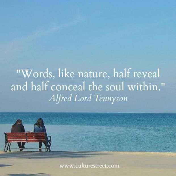 Culture Street   Quote of the Day from Alfred Lord Tennyson