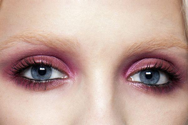 runway makeup at Nina Ricci