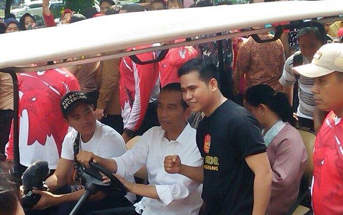 Topi yang Dikenakan Anak Jokowi Bikin Pengunjung Ragunan Gagal Fokus - JawaPos.com