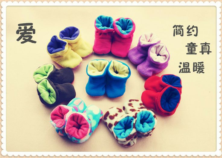 Baby footwear toddler shoes infant baby socks non-slip floor socks floor welt shoes shoes Winter - Taobao