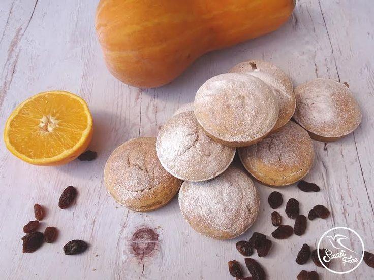 Zsírszegény gluténmentes vegán sütőtökös muffin