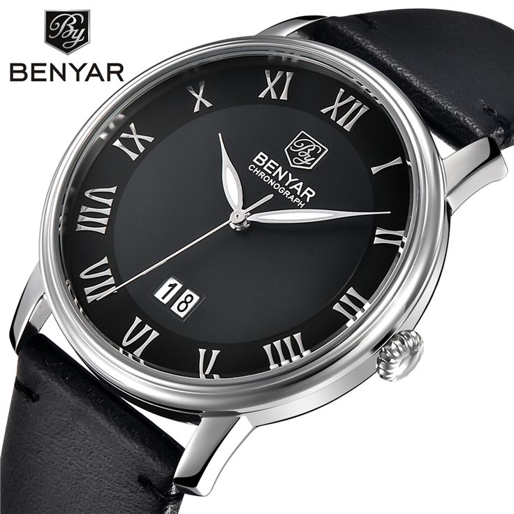Casual Mens Watches Top Brand Luxury Men's Quartz Watch Waterproof Sport Military Watches Men Leather Relogio Masculino Benyar     Tag a friend who would love this!     FREE Shipping Worldwide     Get it here ---> https://shoppingafter.com/products/casual-mens-watches-top-brand-luxury-mens-quartz-watch-waterproof-sport-military-watches-men-leather-relogio-masculino-benyar/