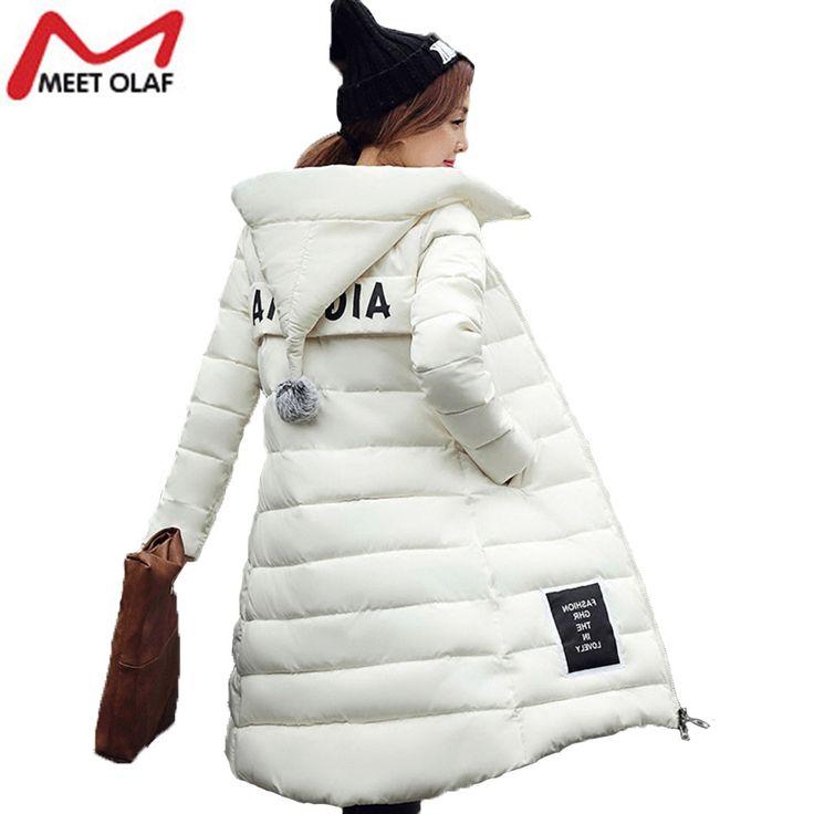 Parkas Winter Jacket coat Women Hooded Thicken Coat xxxxl Warm Cotton-Down Padded Ladies Long Wadded Jacket Coats Parka YL019