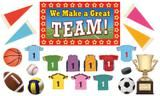 "Checkout the ""We Make a Great Team Bulletin Board"" product"