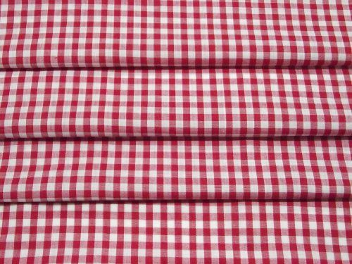 """Red & White Gingham ¼"""" Check Fabric - Sold by the Metre - Free P&P! Prestige Fashion UK Ltd http://www.amazon.co.uk/dp/B004O7PZB4/ref=cm_sw_r_pi_dp_PFF5vb06D5WYD"""
