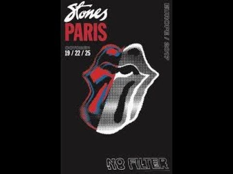 THE ROLLING STONES - PARIS - FULL CONCERT - NO FILTER TOUR 2017 OCTOBER 25