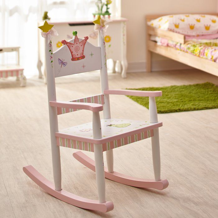 Princess and Frog Kids Rocking Chair