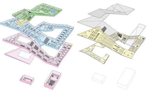 17 best images about archi diagrams on pinterest concept for Rex architecture p c