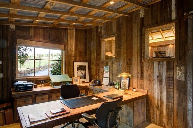 Calistoga Barn home-office