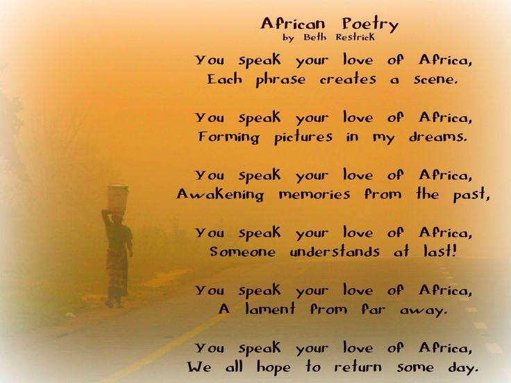 African Poem