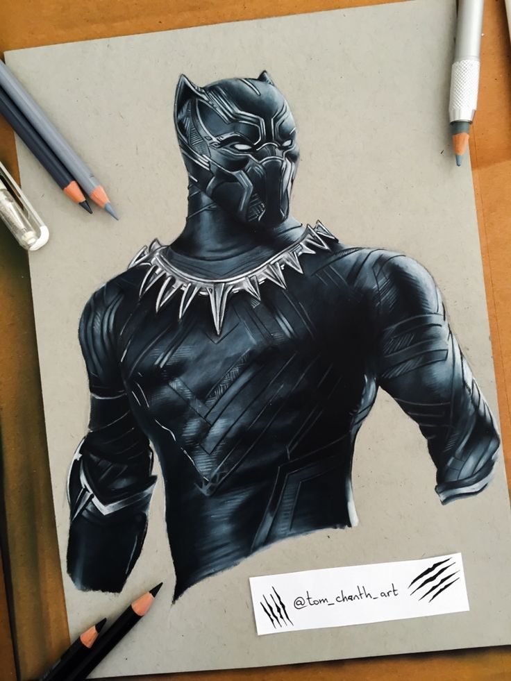 Pencil sketch drawing