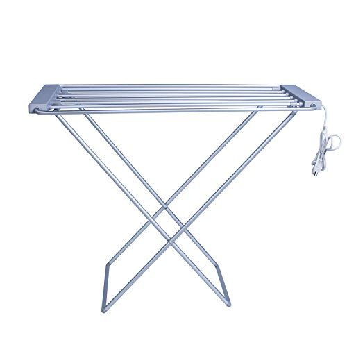 Discounted MAYKKE Arrabelle 100W Electric Laundry Clothes Drying Rack, Foldable Portable Clothes Dryer Airer Warmer UL Certified, XDB1010101