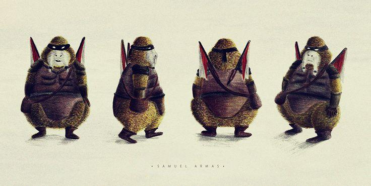 Diseño de un personaje para historieta en sus 4 vistas.  FACEBOOK: www.facebook.com/samuel.saldanaarmas.3